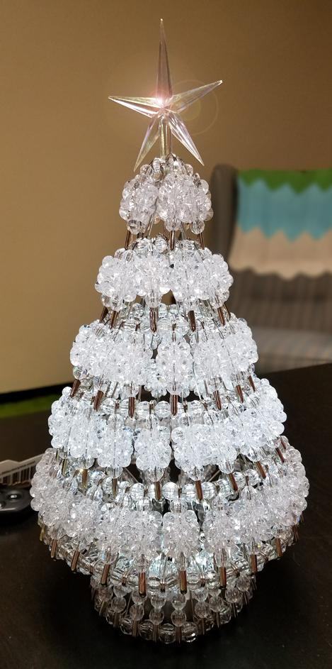 Heirloom Lighted Christmas Tree